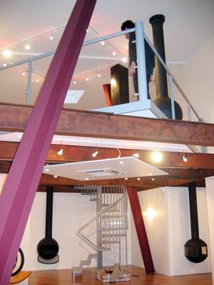 showroom cheminées Focus à Serris France