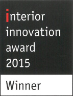 interior innovation award 2015 pour le Slimfocus