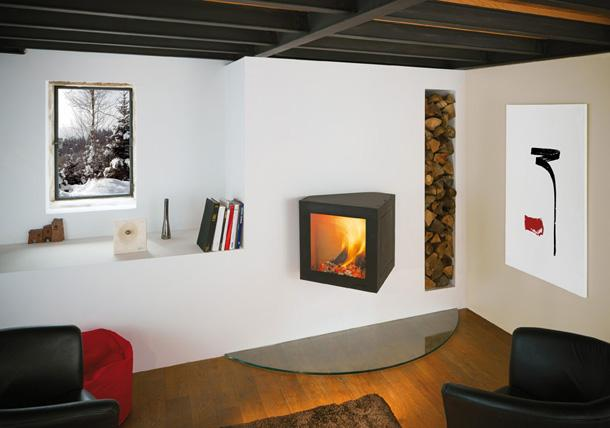 cheminée design cubifocus