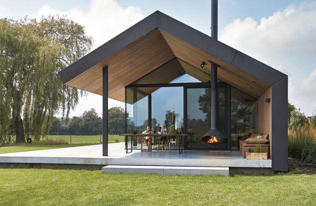 cheminée design suspendue, pour l'extérieur, Ergofocus