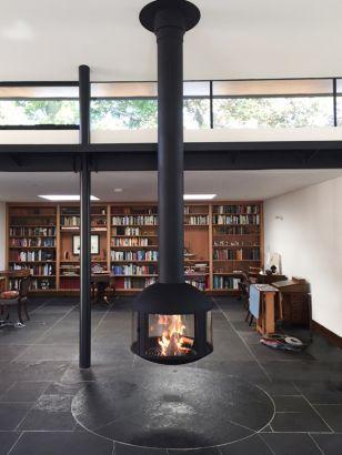 cheminée design centrale AGORAFOCUS 850