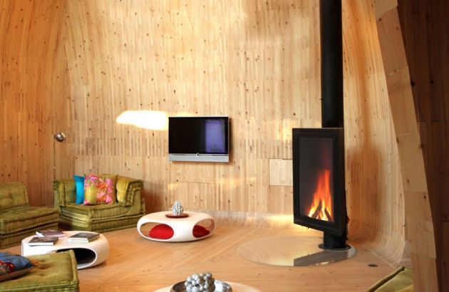 cheminée design Eurofocus