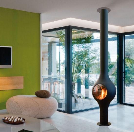 chemin es design au gaz focus focus. Black Bedroom Furniture Sets. Home Design Ideas