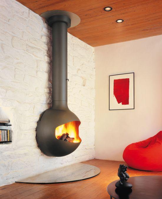 Cheminees Design A Foyer Ouvert Focus Focus