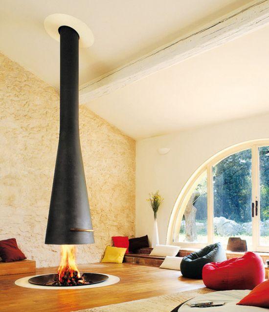 cheminee foyer ouvert focus. Black Bedroom Furniture Sets. Home Design Ideas